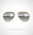 cool aviator sunglasses chrome lenses gold frames