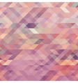 geometric background with triangles vector image