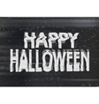 Happy Halloween photocopy vector image vector image