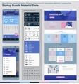 startup bundle material serie mobile app ui