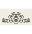 7floral line 71 1 vector image vector image