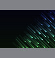 blue green overlap pixel speed abstract background vector image