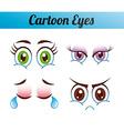 cartoon emoticons vector image