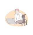 home education remote job accessibility concept