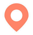 location pointer icon simple minimal pictogram vector image