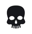 skull piracy virus technology concept vector image vector image