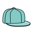 sport cap youth accessory icon vector image vector image