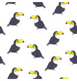 summer background toucans summer print paper or vector image vector image