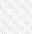 White simple wavy with small details perforated vector image vector image