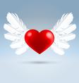 love wings vector image
