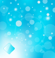 abstract blue light with label background vector image