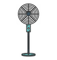 electric fan isolated icon vector image vector image