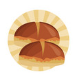 fresh breads food vector image vector image