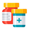 pharmaceutical drugs icon vector image vector image