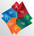 tab polygon vector image vector image