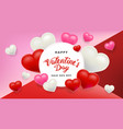 Valentines day sale background with heart