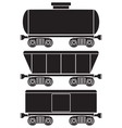 wagons vector image