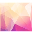 Abstract retro low poly background vector image