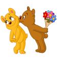 loving bears vector image