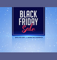 abstract black friday sale background vector image vector image