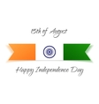 india independence day festive card vector image
