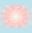 kawaii dreams background vector image vector image