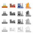 processing plant industrial production facilities vector image