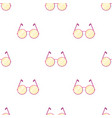 round glasses in a pink framehippy single icon in vector image
