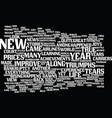 year in review top news stories of text vector image vector image
