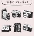 Retro and Old Camera vector image