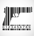 Barcode gun image vector image vector image