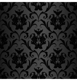 black wallpaper pattern vector image vector image