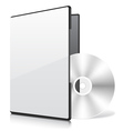 Blank case and disk vector | Price: 1 Credit (USD $1)