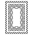 celtic border vector image vector image
