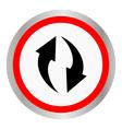 circulation icon vector image