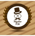Hypster style design vector image