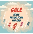 Sale advertising poster vector image vector image