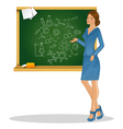 teacher28 vector image