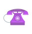 Telephones icon vector image vector image