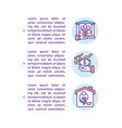 who is eligible to apply concept icon with text vector image vector image