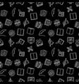 writing and copywriting dark seamless vector image vector image