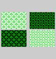 zero waste - background vector image vector image