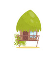 Beach bungalow tropical house