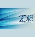 calendar 2018 week starts from sunday vector image vector image