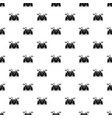 musical drums pattern seamless vector image