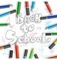 school time poster vector image
