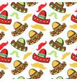 cinco de mayo celebration festive hats accessory vector image vector image
