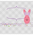 Easter card with copy space EPS8 vector image vector image