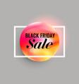 elegant minimal black friday sale background vector image