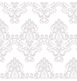 floral damask ornament pattern vector image vector image
